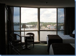 8123 Ontario Kenora Best Western Lakeside Inn on Lake of the Woods - our room 7th floor