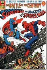 """""""LA BATALLA DEL SIGLO"""" asi fue anunciado el primer crossover de la historia de los comics entre las dos grandes empresas comiqueras, los villanos tenian que ser los mejores sin duda."""