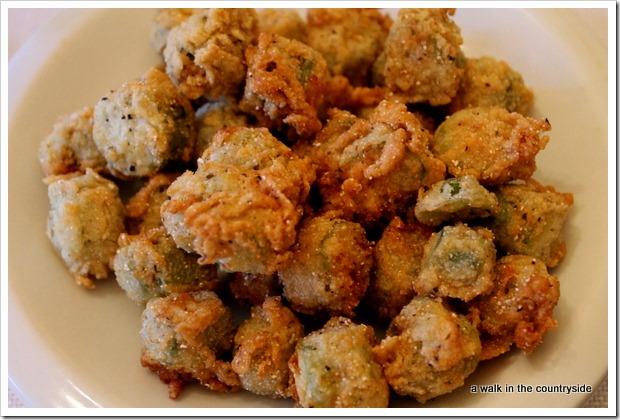 deep fried okra