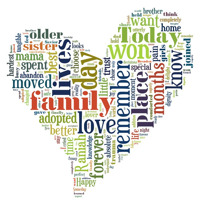 heart wordle adoption