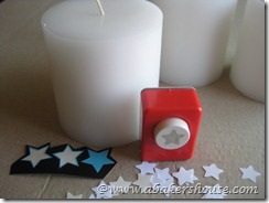 flag candle supplies