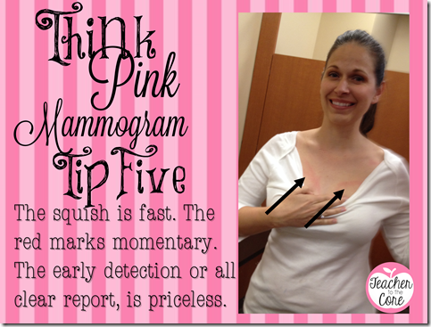 5 Tips for making your mammogram great6