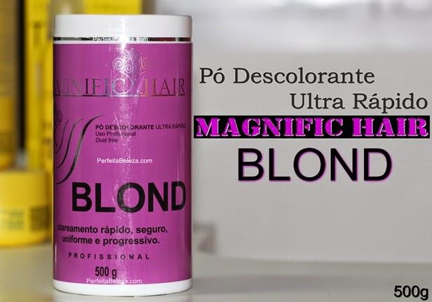 pó descolorante magnific hair resenha