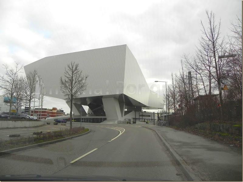 O impressionante Museu da Porsche Stuttgart