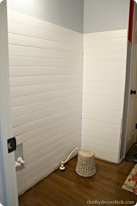 how to install planked walls