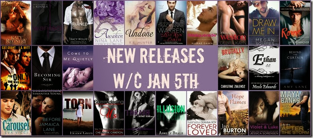 NEW RELEASES WC JAN 5