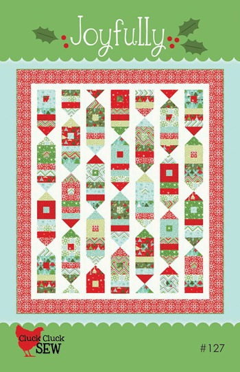 Joyfully cover -smaller quilt