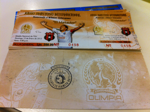 Boleto Olimpia vs Alajuela y despedida del Matador