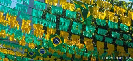 DECORAÇÃO/COPA 2014/LAGOA RODRIGO DE FREITAS/RIO
