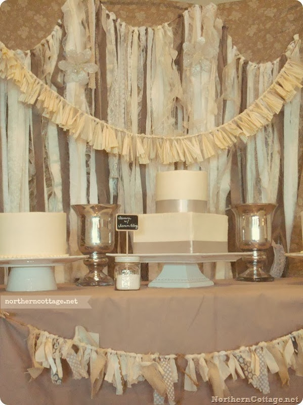 Lovely Dessert Table  {Northern Cottage}