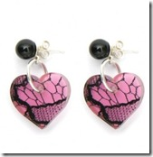 Lace Heart Earrings 2