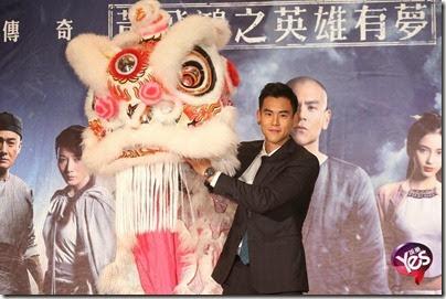 2014.11.27 Eddie Peng during Rise of the Legend - 彭于晏 黃飛鴻之英雄有夢 台北 09