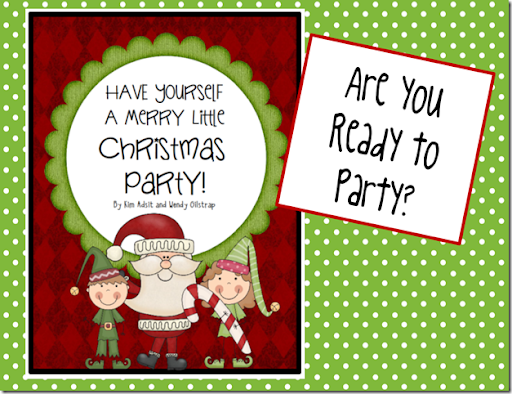 Christmas Party Clip Art Kindergals: have yourself a merry little ...