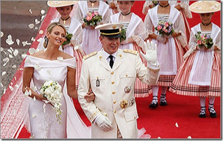 royal wedding in monaco 2011