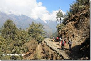 Trilha Acampamento Base do Everest