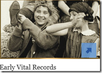 Ancestry.com early vital records offer