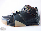 lbj2 pe brown gum2 01 TBT: Nike Zoom LeBron II Maple Gum PEs   Suede Alternate