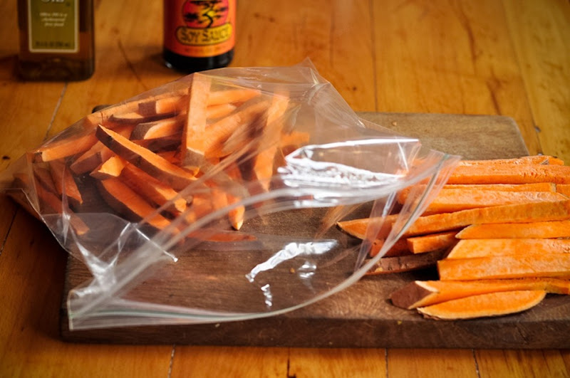 sweet potato oven fries