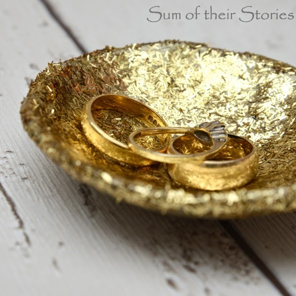 ring bowl glitter