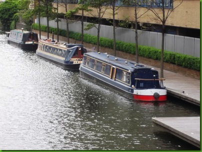 009-1  The two little ships in the Paddington Basin