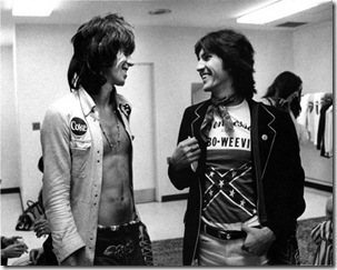 Keith Richards and Stanley Booth