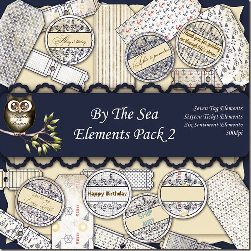By The Sea Elements Front Sheet Pack 2