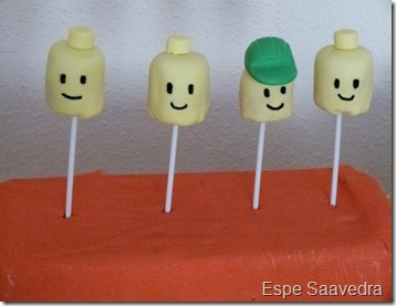 cakepops lego espe saavedra