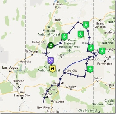 04 Fall 2011 road trip map