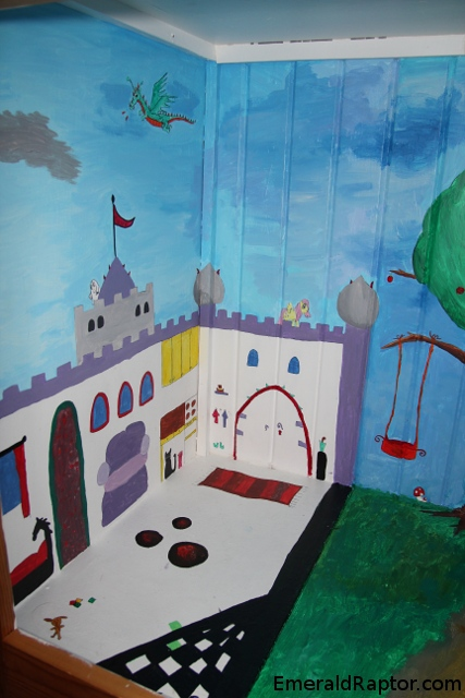 Slott eller borgi skapet