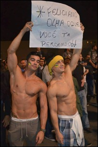 manifestantes cura gay