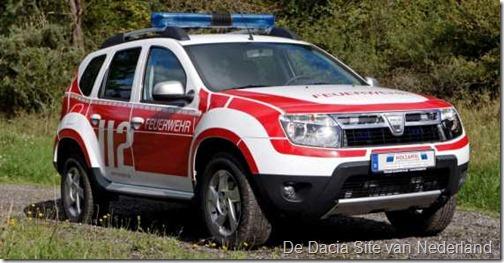 Dacia Duster als brandweer 09
