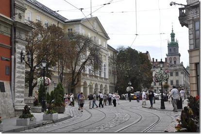 030 800X Lviv vers la place du marché