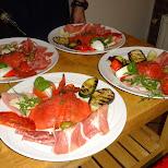 antipasti Italian food at Napoli, Haarlem in Haarlem, Noord Holland, Netherlands