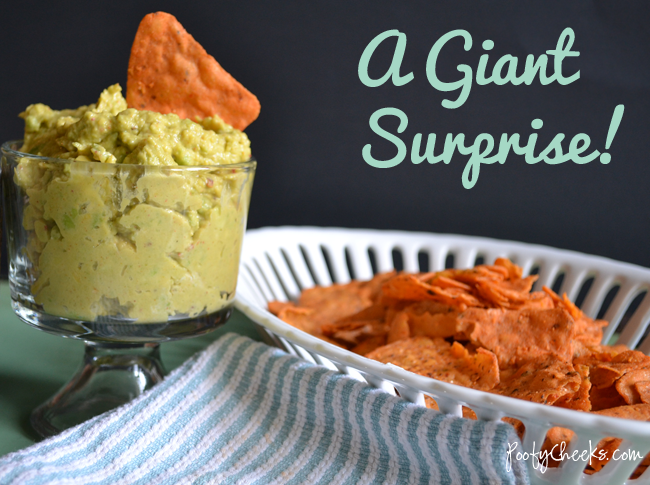 A Giant Surprise - Veggie Chips