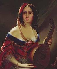 Italiana (Michail Scotti 1814-1861)