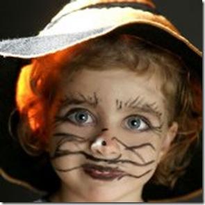 Disfraces Maquillaje para Halloween Especial nios adaptable a
