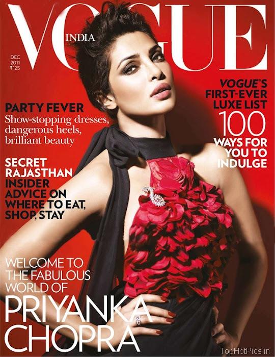Priyanka Chopra Hot Photoshoot for Vogue 1