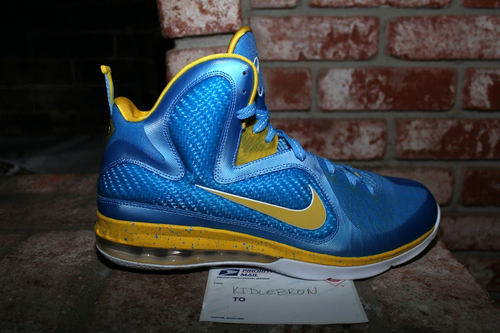 Nike LeBron 9 Swin Cash Chicago Sky Player Exclusive ...