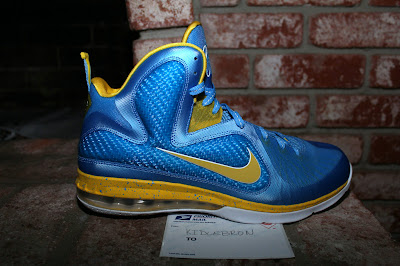 nike lebron 9 pe wnba swin cash 1 01 Nike LeBron 9 Swin Cash Chicago Sky Player Exclusive