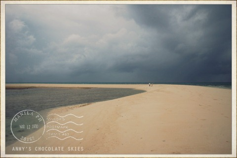 dark skies over white island