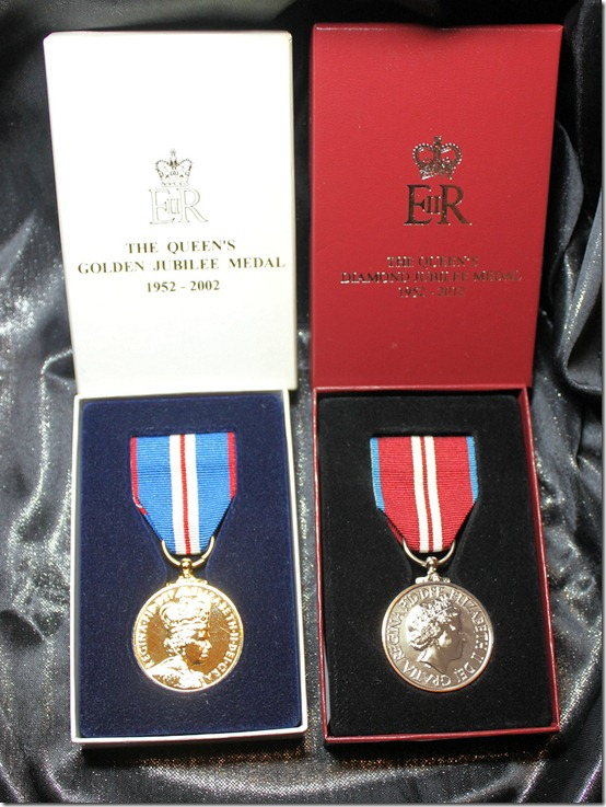Medals front