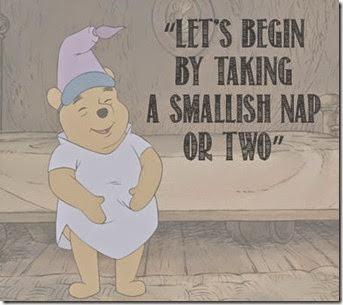 Pooh Bear Nap