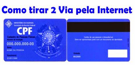 Segunda-Via-CPF - Como-Tirar-2 Via-pela-Internet-www.meuscartoes.com