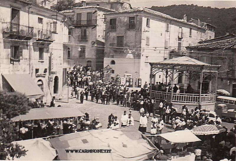Processione di San Rocco, anni 60