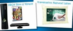xbox slim kinect travesseiro latex natural