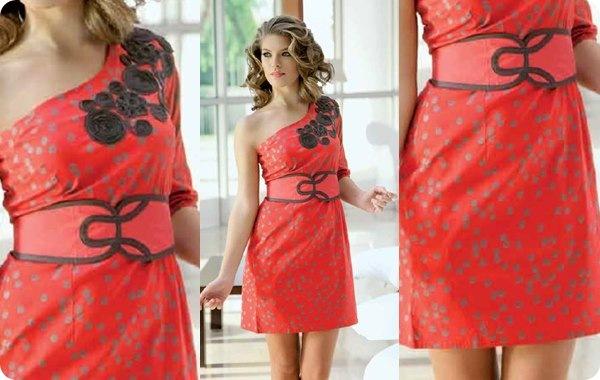 005-2605552 vestido asimétrico