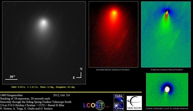 cometa 168P/Hergenrother
