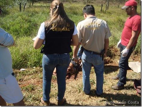 Motociclista é dilacerado em acidente na BR-163 [Foto - Cido Costa]