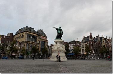 Jacobo de Artevelde en Vrijdagmarkt