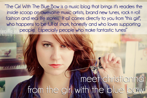 Christianna Girl with the Blue Bow